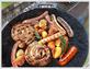 Чугунная сковорода «Садж» для гриля Литтех