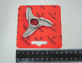 Нож 100027 для мясорубки TS-TI 22 Unger H82 (3 литых гнутых лезвия)