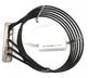 ТЭН 5600 Вт RS1205A0, KRS1205A для печи UNOX. HEATING ELEMENT 6 SPIRE 2+2+1,6 kW 230 V