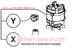Двигатель 303082 для овощерезки Robot Coupe CL52D/CL55D 230v/50hz/1фаза