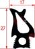Уплотнение 20.00.398P для пароконвектомата Rational  SCC201-CM201