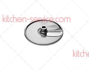 Диск (2 лезвия) 63111 для нарезки ломтиками 1,5 мм для машин для резки овощей мод. RG-200/RG-250