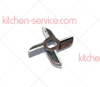 Нож двухсторонний (крест) к мясорубке МИМ-300, МИМ-350, ТМ-32М