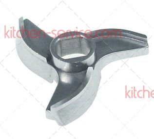 Нож 100028 для мясорубки TS-TI 32 Unger B98 (3 литых гнутых лезвия)