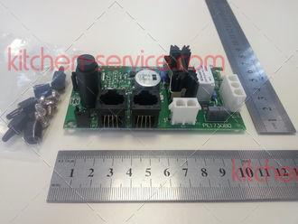 Электронная плата силовая KPE1730B для газовой печи UNOX. KIT SCHEDA CENTRALINA GAS CT-BT