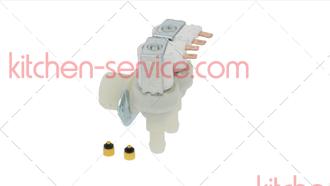Клапан соленоидный сдвоенный для CB1265W, C300 льдогенератора Brema 23157