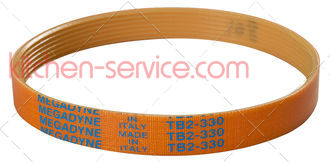 Ремень SV 330 для слайсера Beckers ES 250, ES 275 (861, TB2-330)