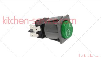 Кнопочный переключатель зеленый - красный для COMENDA (130460)