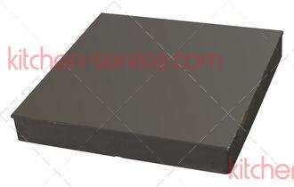 Конфорка 72385 (TS-0747-1), EGO 11.33360.912 2.5кВт 300x300мм для Kogast ES27-47-67 с острыми углами