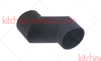 Патрубок 54.00.086 соединительный вентиляционной трубы Rational SCC, CM 61-101