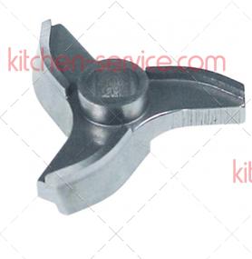 Нож 100029 для мясорубки, Unger R70 (3 литых гнутых лезвия)
