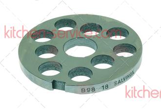 Решетка 101060 для мясорубки TS-TI32 Unger B98, 18мм