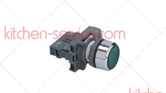 Кнопка зеленая RM122 (FTSE02) для COMENDA (130439)