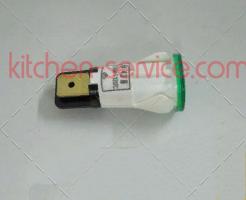 Лампа индикаторная зеленая для макароноварки настольной AMITEK