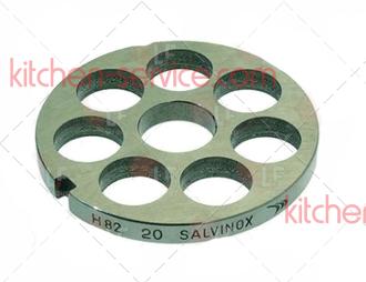 Решетка 100790 для мясорубки TS-TI22 Unger H82, 20мм