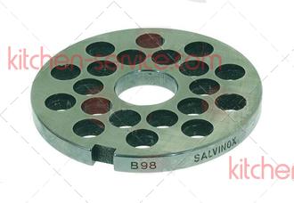 Решетка 101045 для мясорубки TS-TI32 Unger B98, 14мм