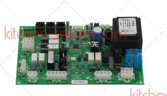 Электронная силовая плата KPE005, PE1365C, KPE1365C для UNOX XBC 605. SUBSTITUTION KIT POWER BOARD CHEFTOP
