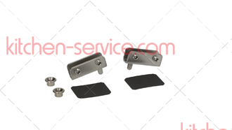 Комплект дверных петель CR046, KCR005 для печи и расстойки UNOX. XV-XL-XB DOOR