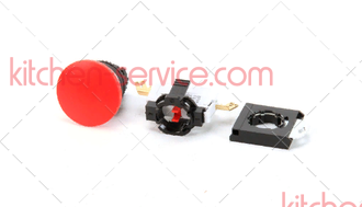 Кнопка красная (500300)