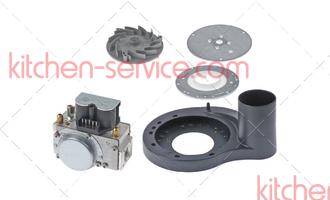 70.00.033 Газовый клапан в сборе ND 055 RG130 Rational SCC 61-62-101G, начиная с 04.04